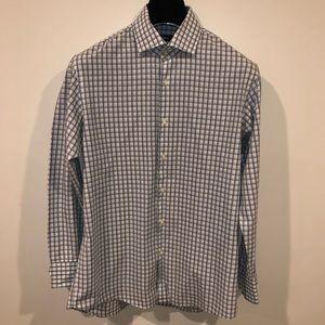 Hugo boss regular fit button down dress shirt